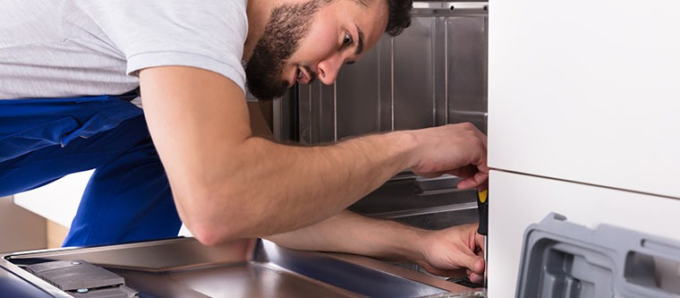 Installing a Dishwasher at Home