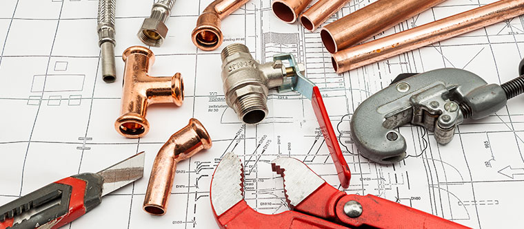 How Plumbing is installed into a home- Part 1